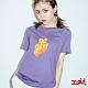 X-girl POP OUT LOGO S/S REGULAR TEE短袖T恤-紫 product thumbnail 1