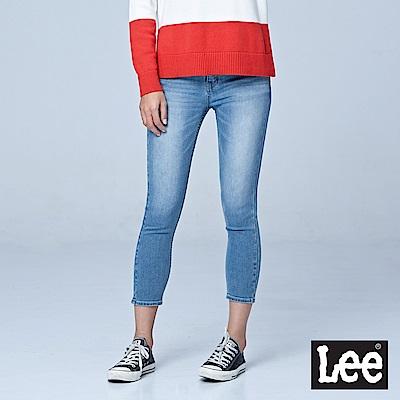 Lee 7分中腰緊身窄管牛仔褲/RG