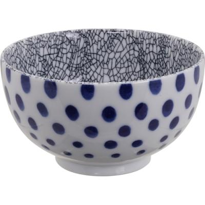 《Tokyo Design》瓷製餐碗(裂紋黑13cm)