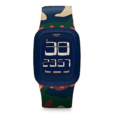 Swatch TOUCH系列 DESERT STORM 沙漠風暴手錶