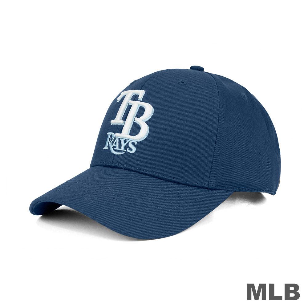MLB-坦帕灣光芒隊可調式復古球帽
