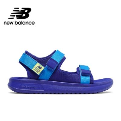 New Balance 涼拖鞋/童鞋_中性_藍色_YH750BY-W楦