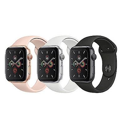 Apple Watch S5 GPS版 44mm 鋁錶殼配運動錶帶