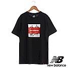 New Balance 經典海報短袖T恤 AMT83535BK中性黑 全台獨家