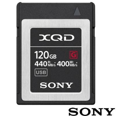 SONY QD-G120F 120GB XQD G系列 440MB/S 高速記憶卡 公司貨