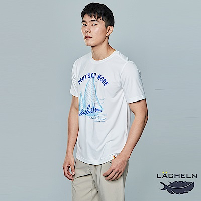 【LACHELN】彈性吸排夏日圓領衫-(L82MA01)