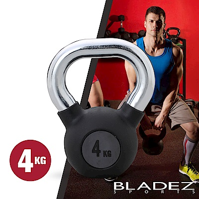 BLADEZ-BM2包膠壺鈴-4KG