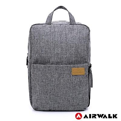【AIRWALK】視界行旅攝影後背包-灰