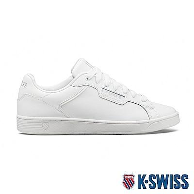 K-SWISS Clean Court II CMF時尚運動鞋-男-白/灰