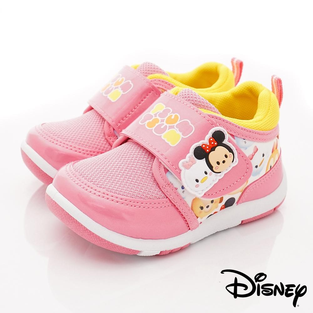 迪士尼童鞋 TSUMTSUM運動鞋款 FO18803粉(中小童段)