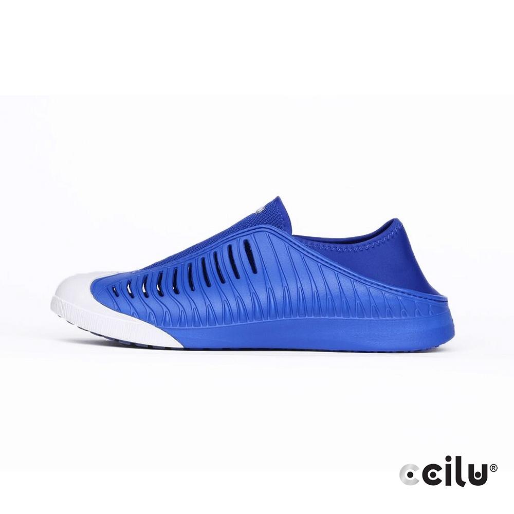 CCILU 輕量防水兩穿休閒鞋-男款-301303153海洋藍