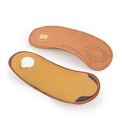 糊塗鞋匠 優質鞋材 H36 牛皮足弓七分墊 1雙