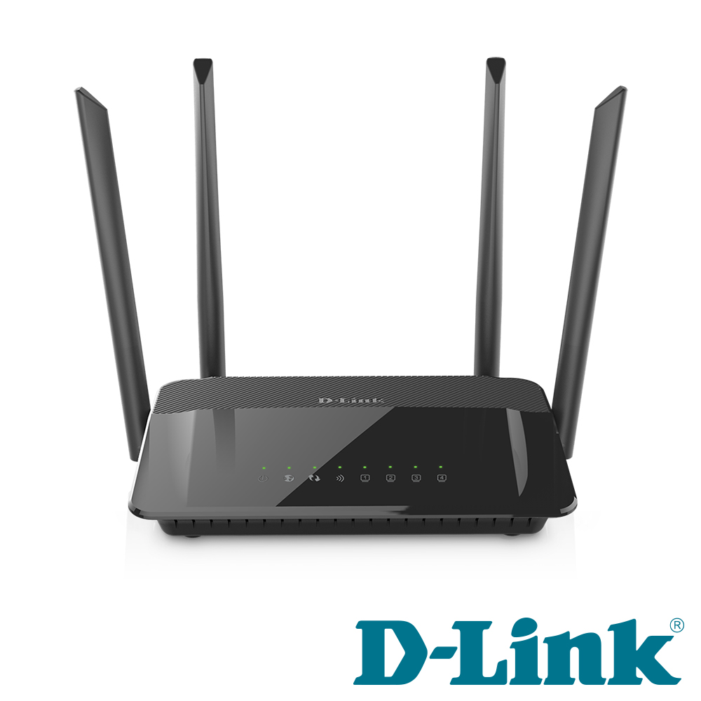 D-Link 友訊 DIR-1210 AC1200 MU-MIMO 雙頻無線路由分享器