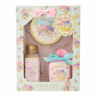 Sanrio 雙星仙子香氛保濕沐浴品禮盒3件組(百花香)
