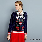 MOMA 絨面趣味圖騰衛衣