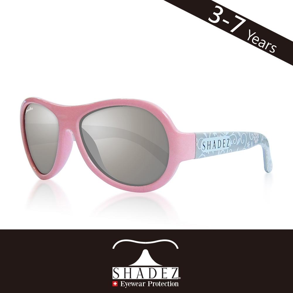 瑞士 SHADEZ 兒童太陽眼鏡 【圖騰設計款-粉色花園 SHZ-97】3 - 7歲