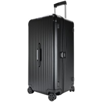 RIMOWA ESSENTIAL Trunk Plus 28吋大型運動旅行箱(霧黑)