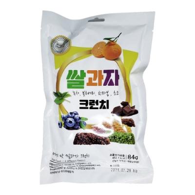 韓國 脆米香-綜合風味(柑橘、綠茶、巧克力、藍莓)(84g)