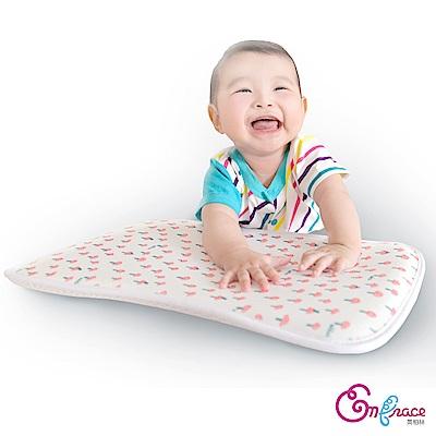 Embrace英柏絲 可愛蘑菇 可水洗 3D超透氣排汗 嬰兒平枕 透氣 寶寶 嬰兒枕