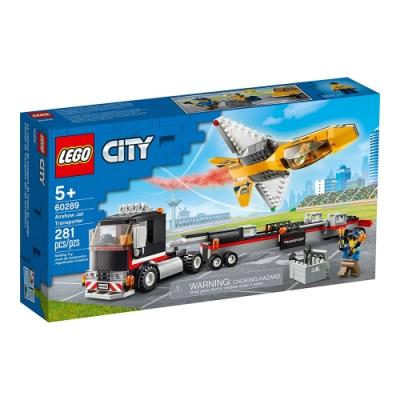 樂高LEGO 城市系列 - LT60289 空中特技噴射機運輸車