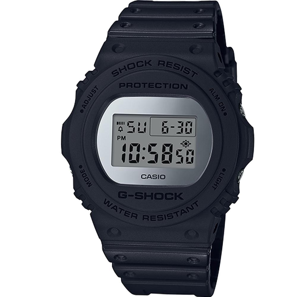 G-SHOCK  霧面磨砂設計運動錶(DW-5700BBMA-1)