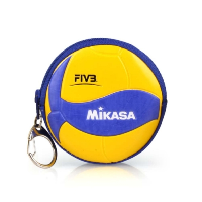 MIKASA 零錢包 黃藍