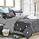 LAMINA 清新時光 加大四件式 柔絲絨兩用被床包組 product thumbnail 1