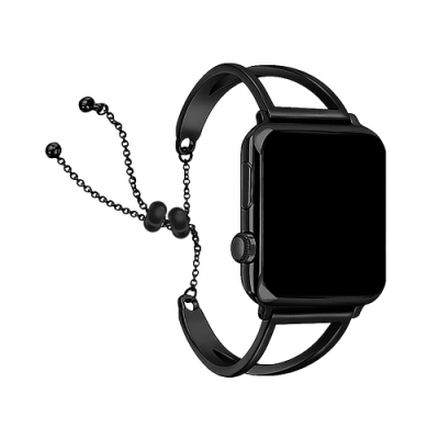 Apple Watch專用錶帶【42/44mm】經典時尚 V字鏤空金屬鍊帶