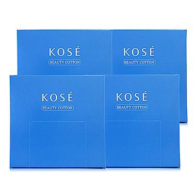 KOSE高絲 高品質化妝棉50枚入*4盒