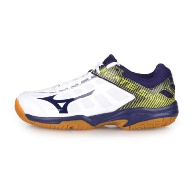 MIZUNO 男女 羽球鞋 GATE SKY 2 白丈青黃