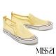 休閒鞋 MISS 21 舒適率性網布厚底休閒鞋-黃 product thumbnail 1