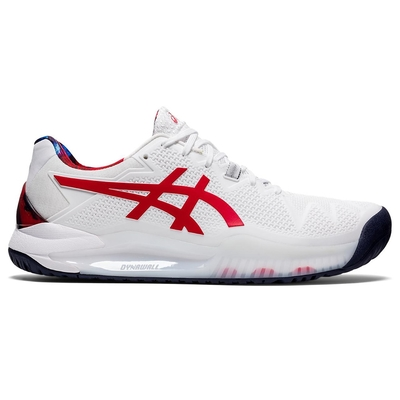 ASICS 亞瑟士 GEL-RESOLUTION 8 L.E. 男  網球鞋 1041A292-110