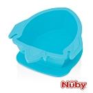 Nuby 矽膠餐碗_火箭-藍