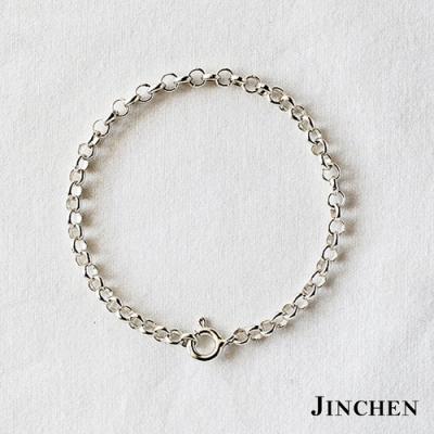 JINCHEN 純銀珍珠鍊手鍊