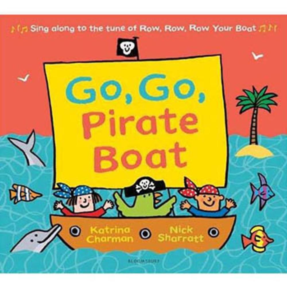 Go, Go Pirate Boat 小小海盜出海平裝繪本