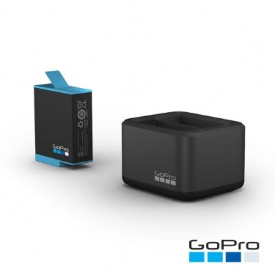 GoPro-HERO9 Black專用雙電池充電器+電池ADDBD-001-AS