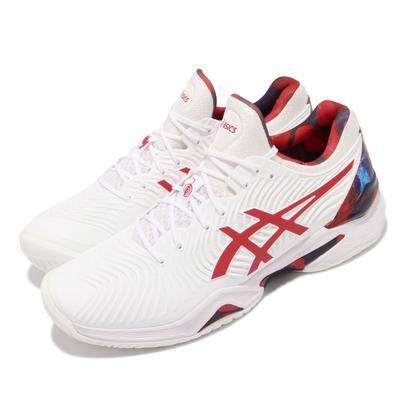Asics 網球鞋 Court FF Novak L.E. 男鞋 亞瑟士 襪套 Djokovic 吸震 回彈 白紅 1041A202110