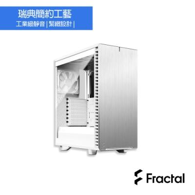 【Fractal Design】Define 7 Compact TG 極光白