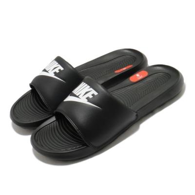 Nike 拖鞋 Victori One Slide 男女鞋 輕便 套腳 舒適 情侶穿搭 大logo 黑 白 CN9675002