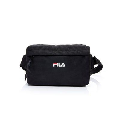 FILA 小型腰包-黑 BWT-5006-BK