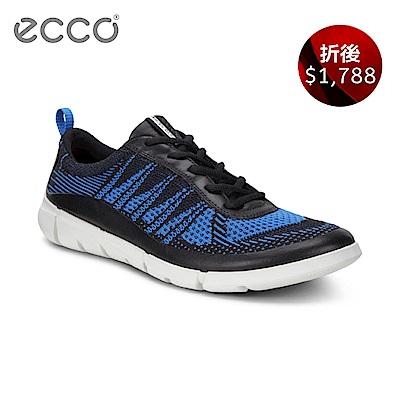 ECCO INTRINSIC 1 都市輕量步行運動鞋 男 藍