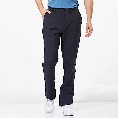 【HAKERS 哈克士】男 抗UV快乾彈性修身長褲-深軍藍