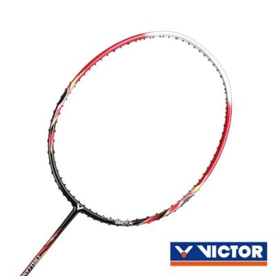 VICTOR 挑戰者球拍-3U 紅黑