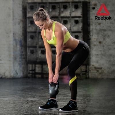 Reebok 專業訓練鑄鐵包膠壺鈴-6kg(淺灰)