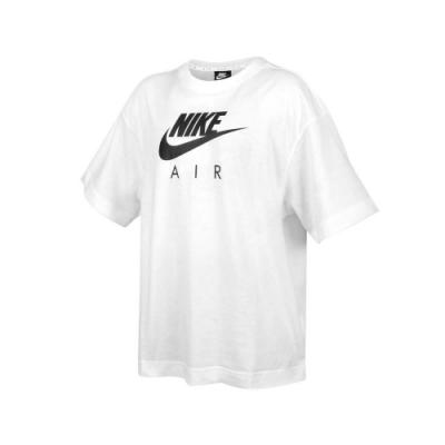 NIKE 女 短袖T恤 黑白