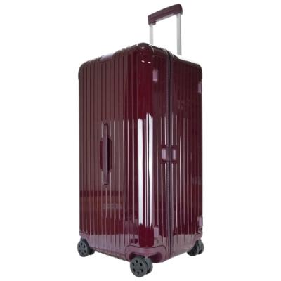 RIMOWA ESSENTIAL Trunk Plus 31吋大型運動旅行箱(酒紅)