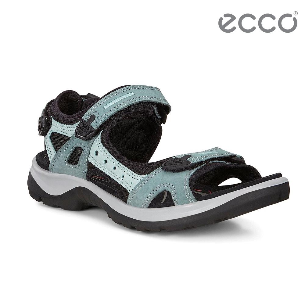 ECCO OFFROAD 越野亮彩戶外運動涼鞋  女鞋-淡綠