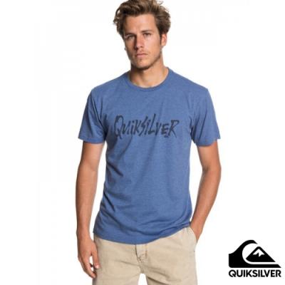 【QUIKSILVER】SCRIPTUAL MOD T 恤 藍