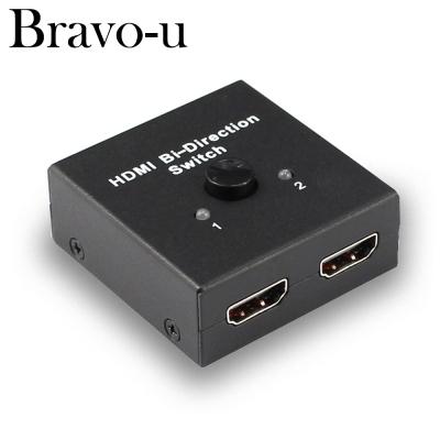 Bravo-u 4k雙向轉接 二進一/一進二出 HDMI視頻切換器