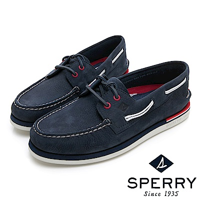 SPERRY 手工縫製時尚經典帆船鞋(男)-海軍藍